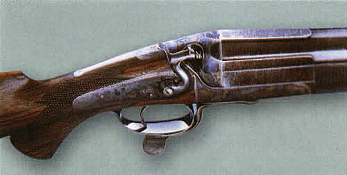 Одноствольное курковое ружье Дж. Ригби большого калибра — <br             />«уточница»