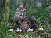 самый мой большой медведь, 17см мозоль, килограмм на 170.